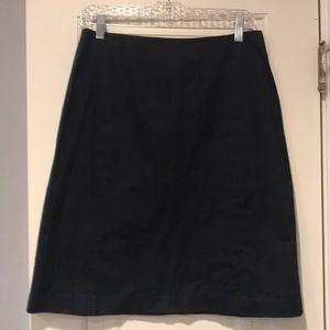 Black A-line Skirt, Size 8, Old Navy